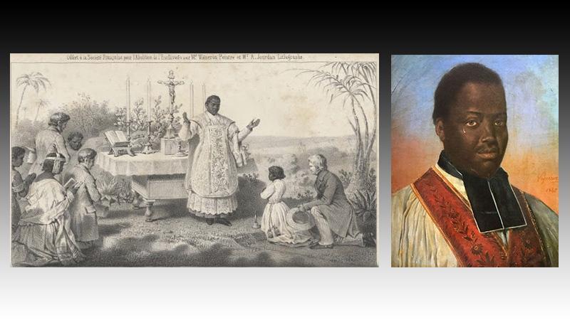 Abbé Jean-Pierre Moussa : modèle noir et abolitionniste