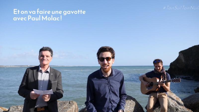 Langue bretonne : le député Paul Molac pousse la chansonnette