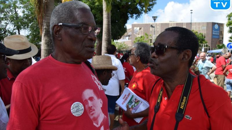 """Georges Erichot (Parti Communiste Martiniquais) : """"Ce n'est pas en falsifiant l'Histoire que l'on pourra faire avancer la cause de la libération nationale martiniquaise"""""""