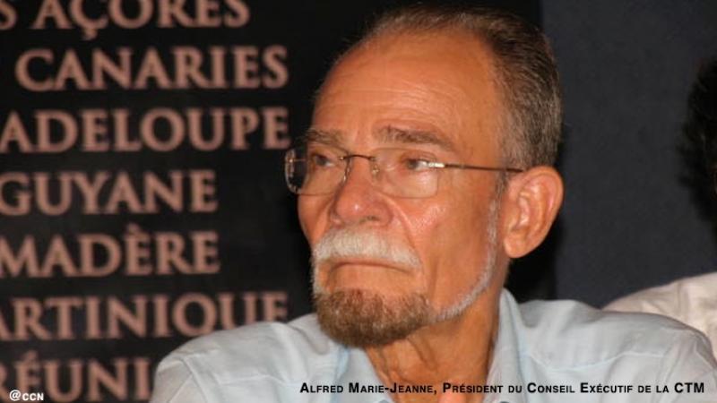 """Alfred Marie-Jeanne    : """"La gouvernance de l'Université des Antilles déshonore la Guadeloupe et la Martinique"""""""