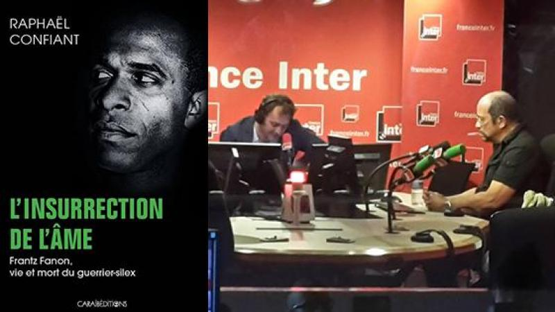 """Raphaël Confiant invité de l'émission """"Boomerang"""" de France-Inter"""