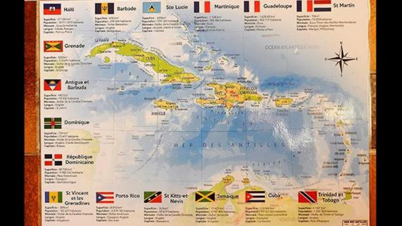 UN SET DE TABLE ERRONE : LE CREOLE EST PARTOUT PRESENT DANS LA CARAIBE
