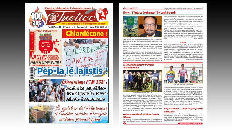 Appel du PCM : Tous à la manifestation du 27 février pour exiger justice dans le scandale du Chlordécone !