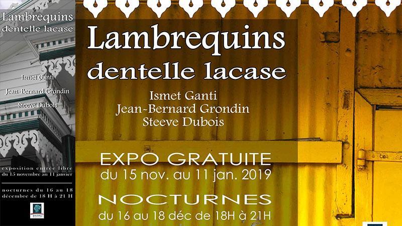 LAMBREQUINS-DENTELLE LACASE