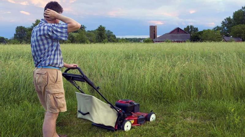 """Le plaidoyer d'Eric Lenoir : """"Arrêtez de tondre vos pelouses !"""""""