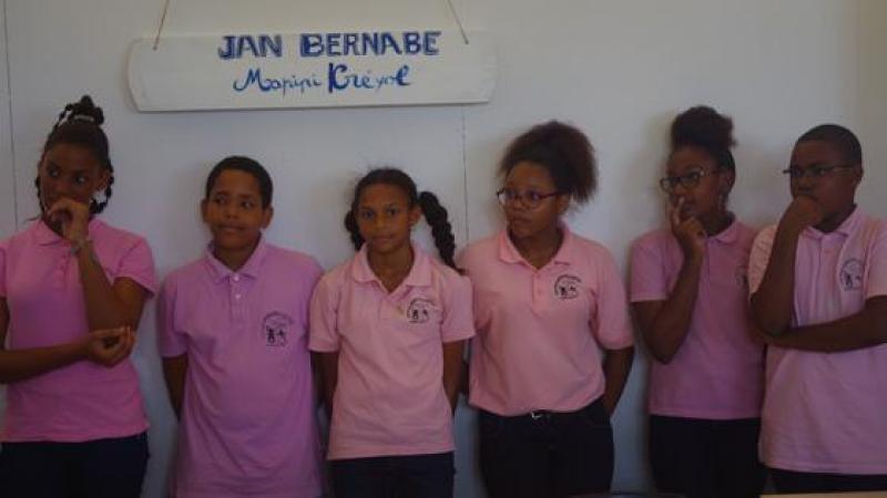 Batenm  « Sal Jean Bernabé »,  kolej Lagrosillère, Sent-Mari