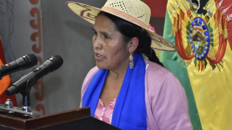 La ministre de la culture de Bolivie en lutte contre le racisme dans son pays
