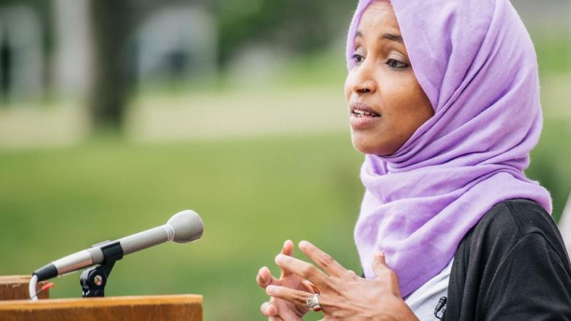 Ilhan Omar criticises Israel's ethnic cleansing of Palestine