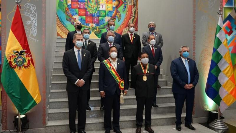 Le président bolivien Luis Arce appelle à l'intégration Sud-Sud et à la reprise de l'Unasur lors de son investiture