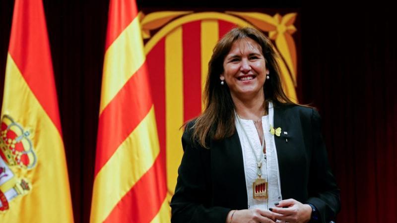 Proche de Carles Puigdemont, Laura Borras, élue présidente du Parlement catalan