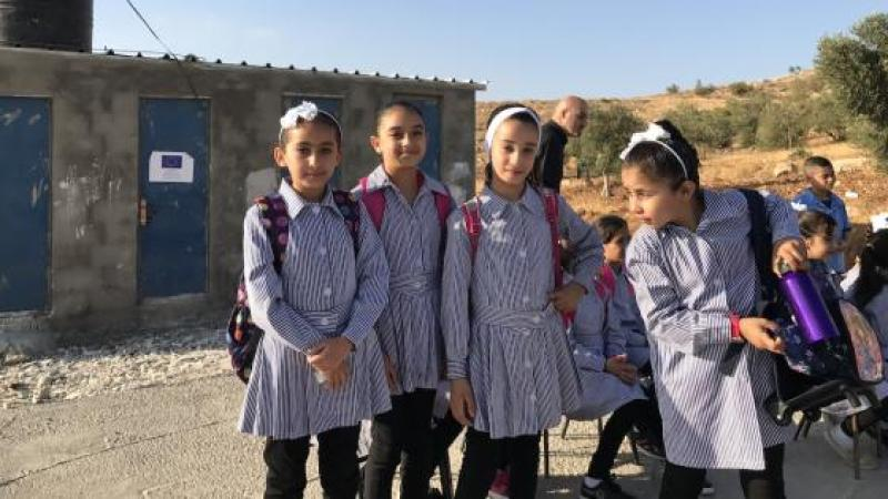 'We came to school and found the school destroyed': Israeli forces demolish West Bank school hours before children's first day