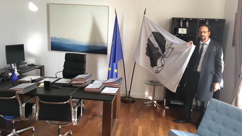 Louis Boutrin, président du Parc Naturel de Martinique, demande l'asile politique à la Corse