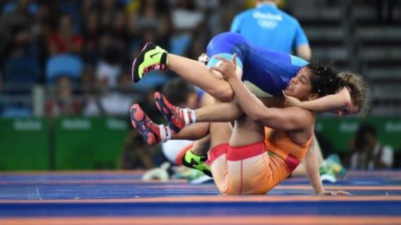 L'Inde (1 milliard 265 millions d'habitants) obtient 1 médaille (de bronze) à Rio