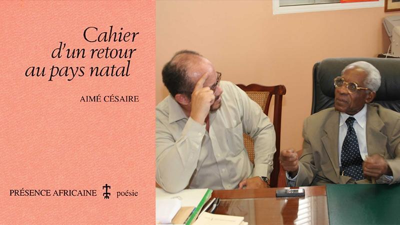 """""""CAHIER D'UN RETOUR AU PAYS NATAL"""" D'AIME CESAIRE TRADUIT EN CREOLE PAR RAPHAEL CONFIANT"""
