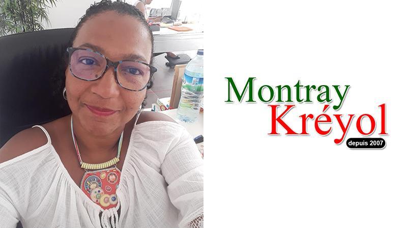 """Génya Jos, présidente de l'association """"Pour une Ecologie Urbaine"""", soutient Montray Kréyol"""
