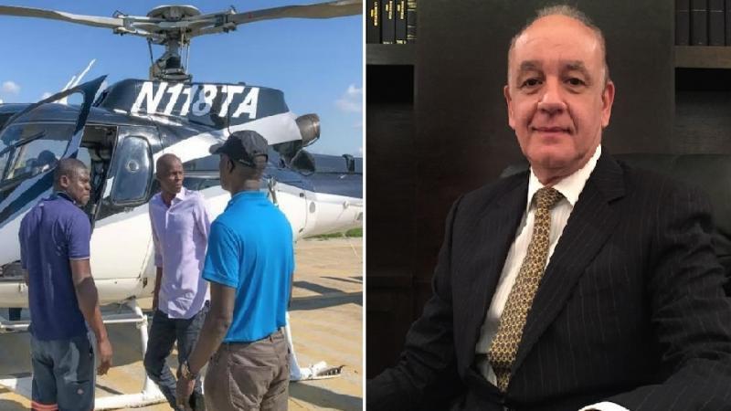 Jovenel Moise forcé d'annuler sa visite par hélicoptère pour cause de dette envers Shérif Abdallah