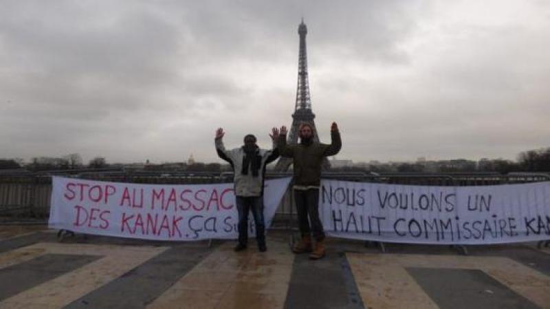 STOP AU MASSACRE DES KANAK !