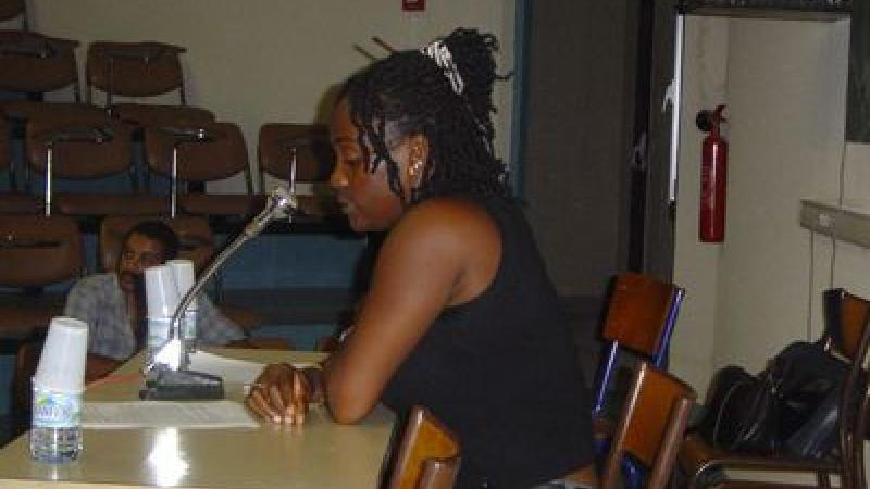 MADJANIE LEPRIX, LAUREATE AU CAPES DE CREOLE SESSION 2008