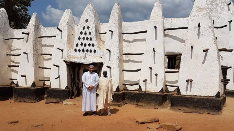 Ghana : un voyage enchanteur à la découverte d'une mosquée vieille de 700 ans