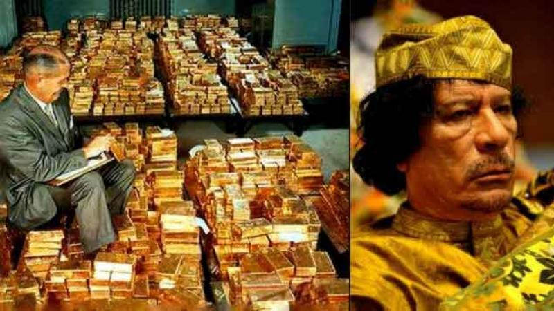 Hillary Emails révèle que l'OTAN tué par Kadhafi pour mettre fin à la création par la Libye d'une monnaie supportée par l'or