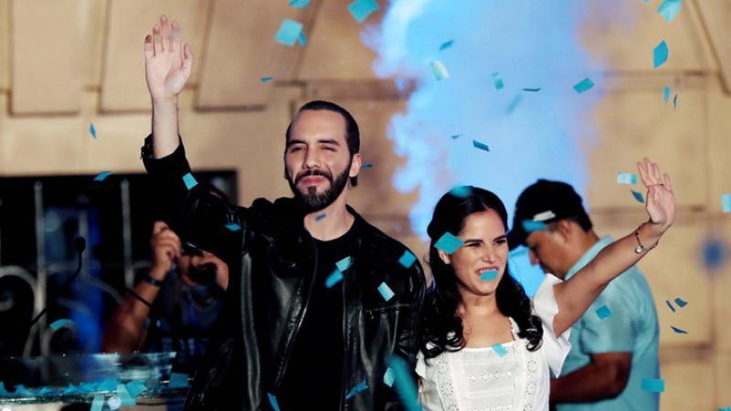 Nayib Bukele, 37 ans, nouveau président du Salvador