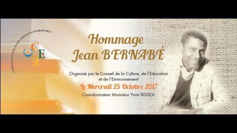 Hommage Jean à BERNABE