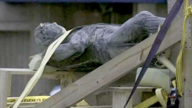 La statue de Nelson déplacée au Musée de la Barbade