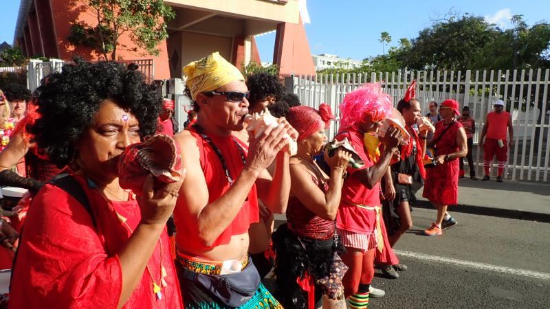 Mardi Gras Anvil