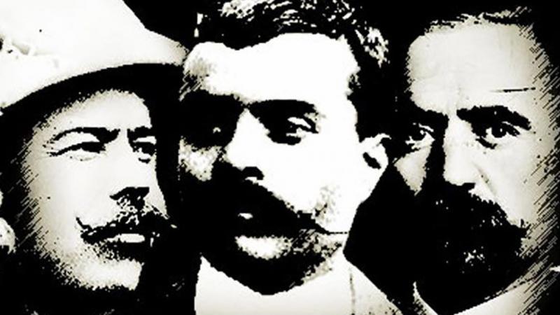5 personajes importantes de la Revolución Mexicana