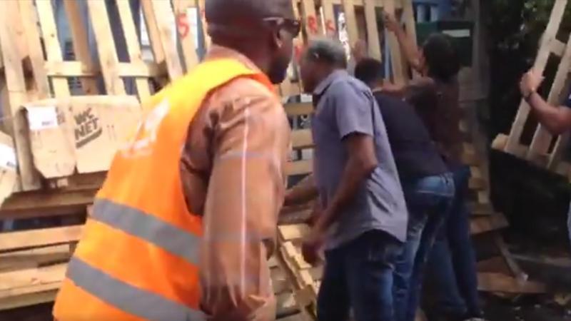 Parc Naturel de Martinique : la majorité non-gréviste ne se laisse plus faire