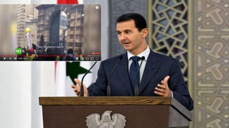 El Assad propose d'armer les rebelles français contre le gouvernement Macron