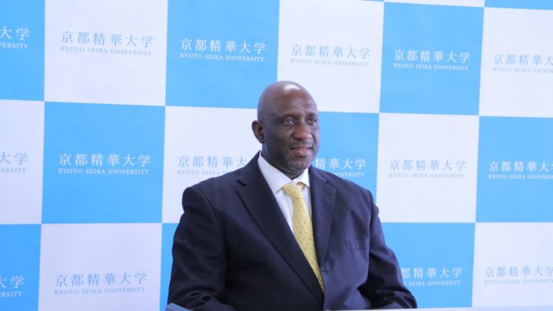 Oussouby Sacko, Malien, devient le premier Africain à diriger une université japonaise