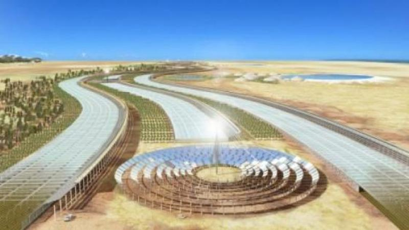 SAHARA FOREST PROJECT : LA JORDANIE DONNE VIE À UNE OASIS EN PLEIN DÉSERT