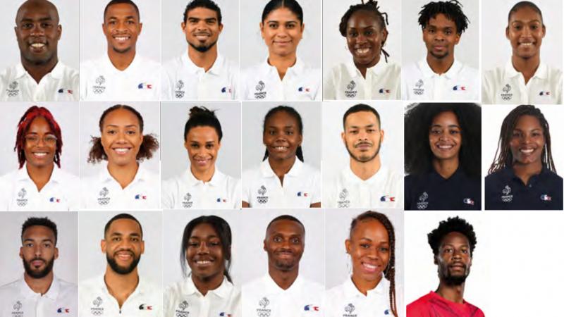 20 Guadeloupéen(ne)s vont représenter la France aux J.O