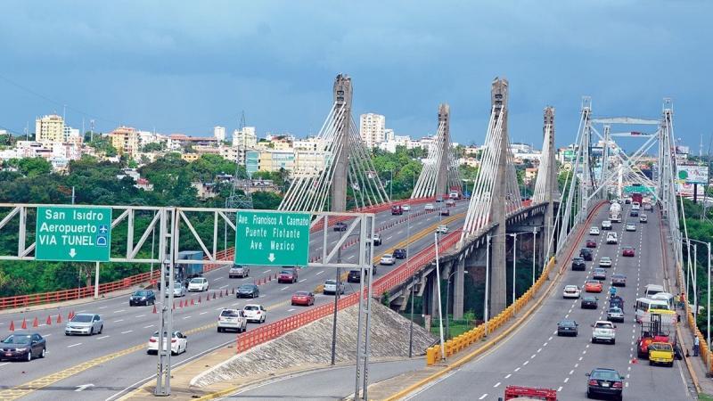 República Dominicana ocupa el primer lugar en infraestructura vial en la región
