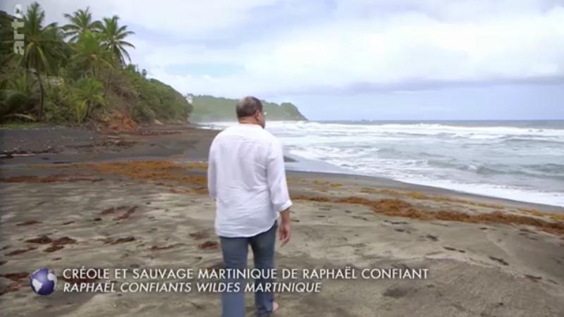 Raphaël Confiant évoque sa Martinique sur la chaîne franco-allemande ARTE