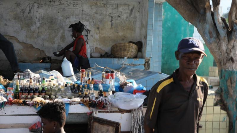 Ces haïtiens qui habitent au cimetière de Port-au-Prince