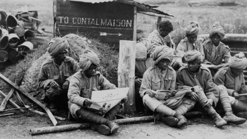 L'engagement militaire indien pendant la Grande Guerre