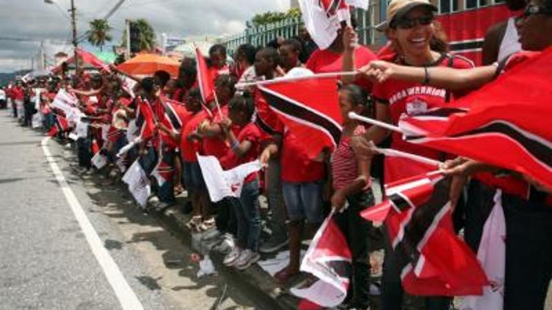 59è anniversaire de l'indépendance de Trinidad-et-Tobago