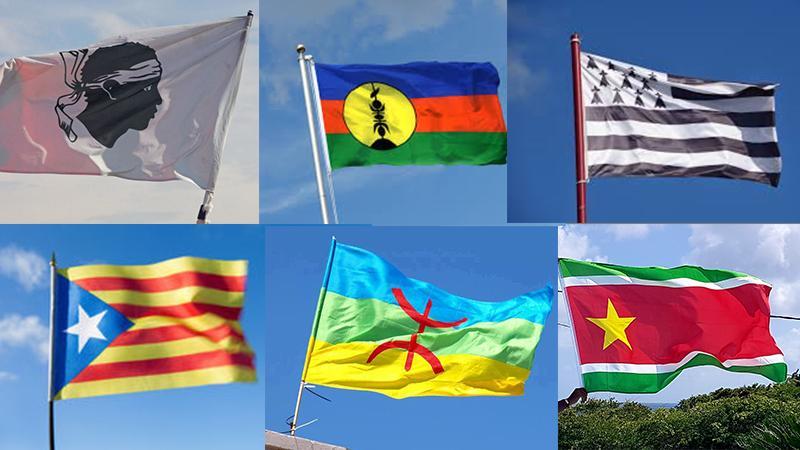 """Le Rouge-Vert-Noir, drapeau """"national"""" ou drapeau """"nationaliste"""" ?"""