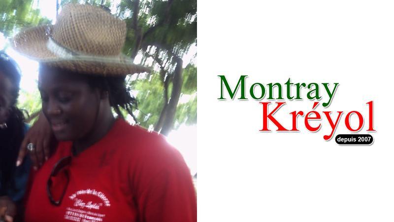 Madjanie Leprix soutient Montray Kréyol