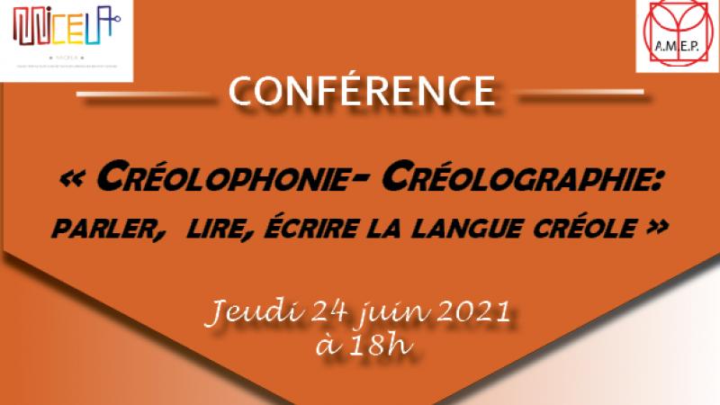 """Conférence de Daniel Boukman sur """"créolophonie-créolographie"""""""