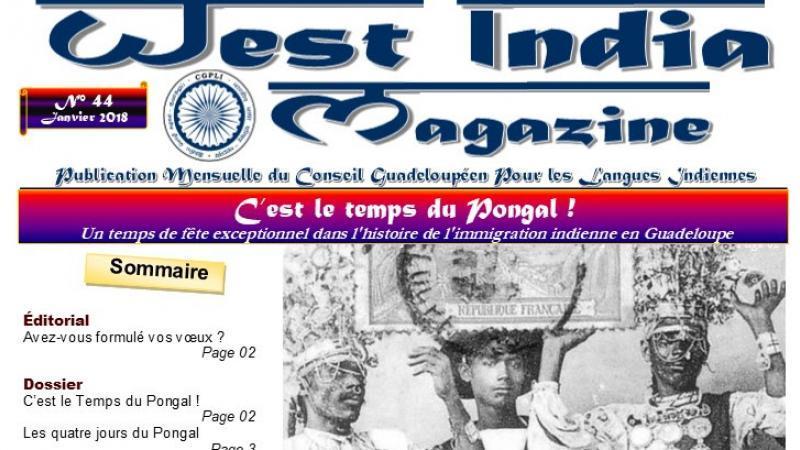 WEST INDIA MAGAZINE N°44