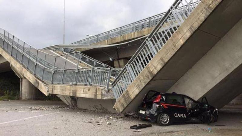 Dieci i ponti crollati in 5 anni: in calo la manutenzione e gli investimenti