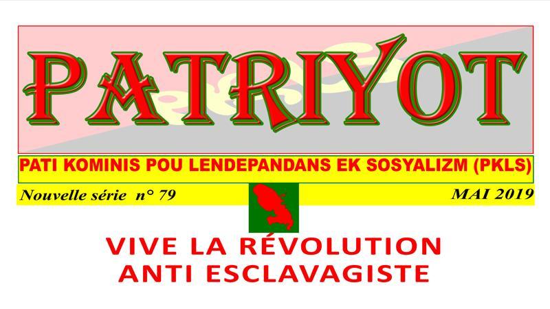 Patriyot #79 Mai 2019