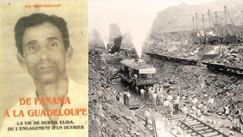 « De Panama à la Guadeloupe, la vie de Dubail ELISA »