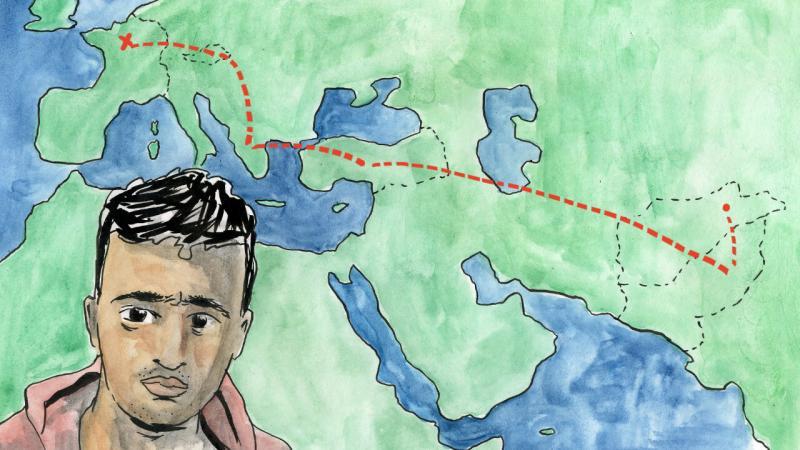 Qui était Zar Muhammad Miakhil, jeune réfugié afghan tué par la police